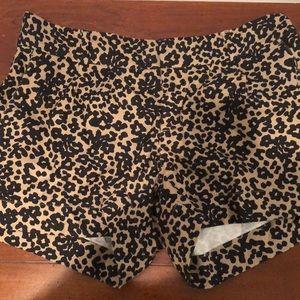 Cheetah Print Shorts